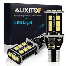 AUXITO 2x T15 W16W LED Canbus nie OBC błąd 1000LM światło cofania żarówka dla Mazda 2 3 CX 5 CX5 CX9 CX3 CX7 323 6 GH Axela 2019 2020