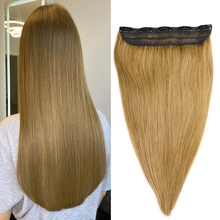 MRSHAIR Classic #27 Light Honey Brown Clip in Human Hair Extensions 5 Clips 14 18 22