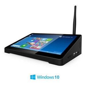 Image 1 - Pipo Mini PC Win 10, Intel Cherry trail Z8300 Quad Core, 4 go/64 go, 2 go/32 go, boîtier Smart TV, tablette tactile 8.9x1920 P, 1080P