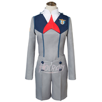 DARLING in the FRANXX girls uniform Halloween Cosplay Costume Outfit lolita dress boys costume