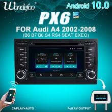 PX5 רכב רדיו 2 דין אנדרואיד 9 autoradio לאאודי A4 B6 B7 S4 B7 B6 RS4 B7 סיאט Exeo 2DIN רכב סטריאו מולטימדיה ניווט אודיו
