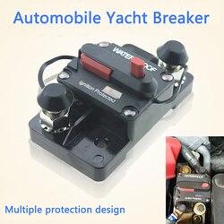 Автоматический выключатель 30A 40A 50A 60A 70A 80A 100A 120A 150A 200A 250A 300A, предохранитель 12-48 В постоянного тока для автомобиля, лодки, водонепроницаемые