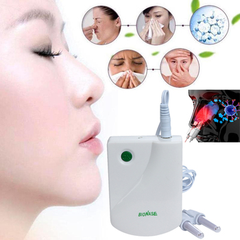 Rhinitis Therapy Device Nasal Allergic Rhinitis Relief Nose Treatment Laser Light Therapy Nose Rhinitis Sinusitis Healing Therap rhinitis sinusitis cure therapy bionase nose treatment nose massage device cure hay fever low frequency pulse laser health care
