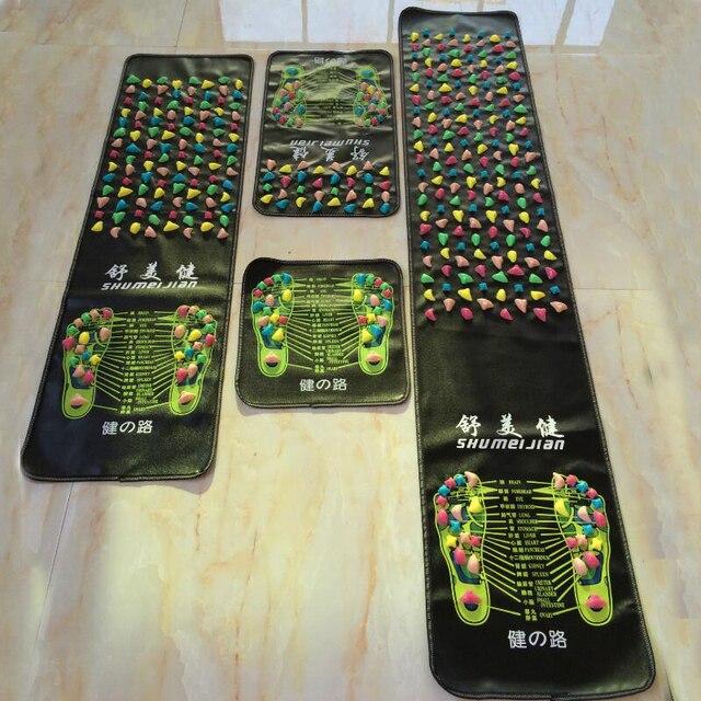 Simulation Cobblestone Foot Massage Mat Home Comfortable Foot Massage Cushion Gravel Road Massage Mat 35/70/120/140/175cm*35cm 5
