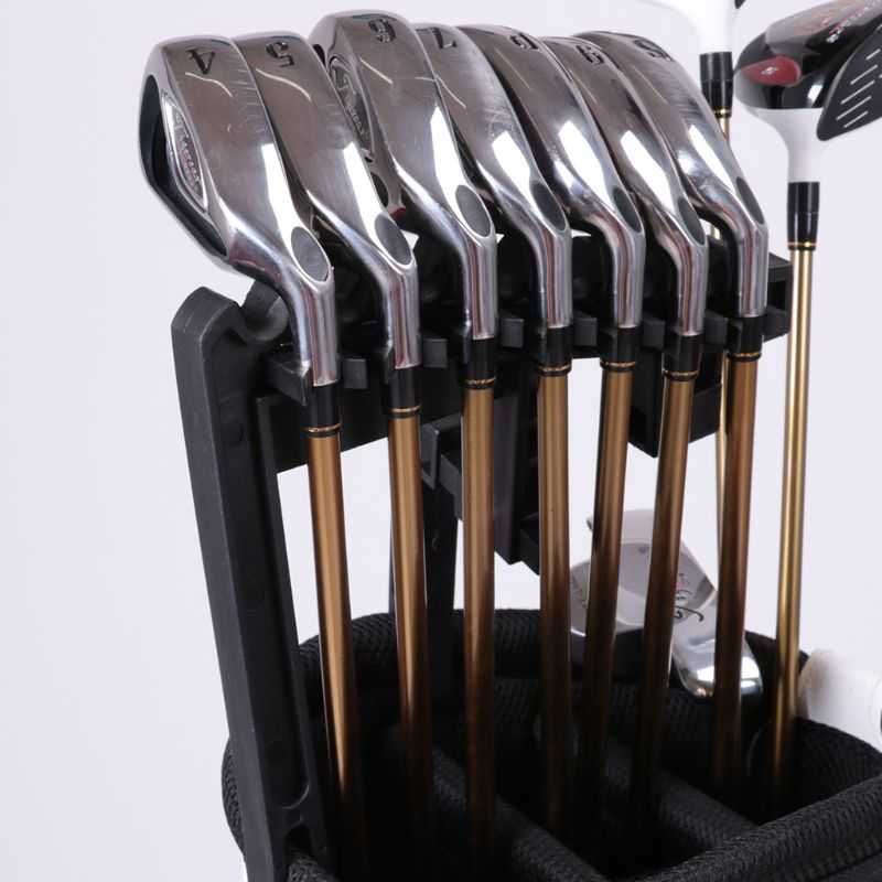 Golf Club Grip Handle ABS Shaft Stacker For Any Size Bag Storage Bag Golf Aid Accessories Cue Rack Good Quality Hotselling