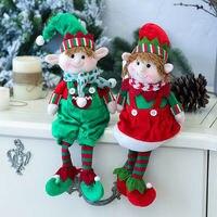 Plüsch Elf Elfen Puppen Spielzeug Weihnachten Baum Ornamente Neue Jahr Geschenke Weihnachten Decor Puppe Neue