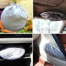 6pcs Silver Car Sunshade Windshield Sun Blind Screen Shield Protector Visor Cover Block UV