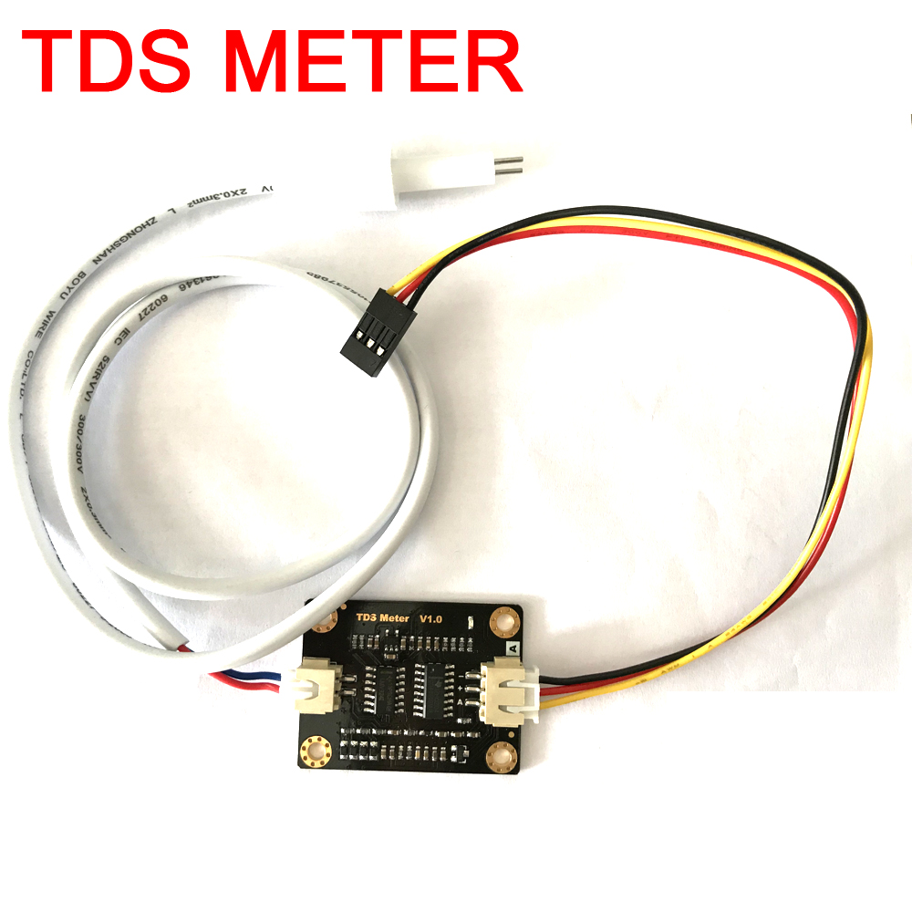 Dykb Analog TDS Sensor Hydroelectric Conductivity Sensor METER FOR Liquid Detect Water Quality Monitoring Total Dissolved Solids