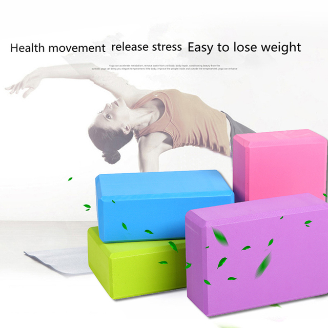 EVA-Yoga-Block-Set-Pilates-Brick-Fitness-Belt-Set-for-Exercise-Workout-Fitness-Training-Block-Brick