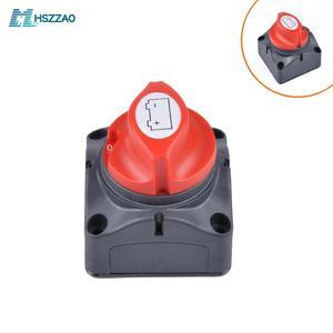 12V-60V 100A-300A Car Auto RV Marine Boat Battery Selector Isolator Disconnect Rotary Switch Cut(China)