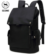 Scione erkek moda sırt çantası Laptop sırt çantası erkekler için 2020 su geçirmez seyahat açık sırt çantası okul genç Mochila çantası