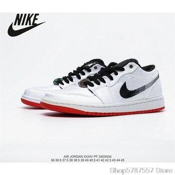 NIKE Air Jordan 1 AJ1 Low Women's Low-Top Cultural Basketball Shoes Size36-39