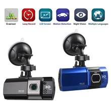 Câmera Auto DVR Gravador de Condução quente AT500 DVR visão Noturna Traço Cam Full HD 1080 p Gravador de Vídeo Registrator HDR G-sensor Nova