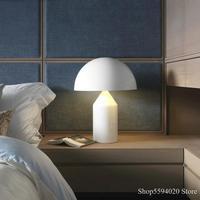 Postmodern Minimalist Table Light Bedroom Study Mushroom Table Light Nordic Creative Mushroom Table Lamp Nightstand Lampadari