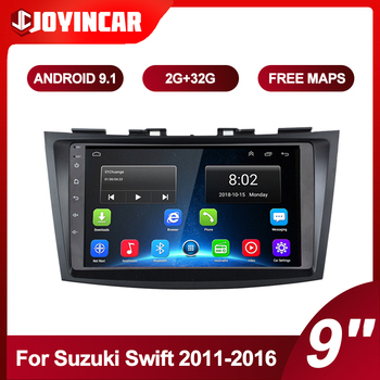 9'' Android 9.1 For Suzuki Swift 2011-2016 2din Car Radio Audio Multimedia Video Player Navigation GPS Autoradio Head Unit image