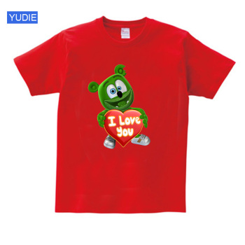 Gummy Bear T-Shirt I LOVE YOU t shirt Fashion Personality 2020 Casual T Shirt girl tshirt for kids children boys girls T-shirt printio i love gummy bears