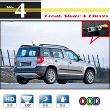 LiisleeFor Skoda Yeti 5D SUV 2010~ Автомобильная камера высокого качества камера заднего вида для PAL или NTSC/CCD+ RCA