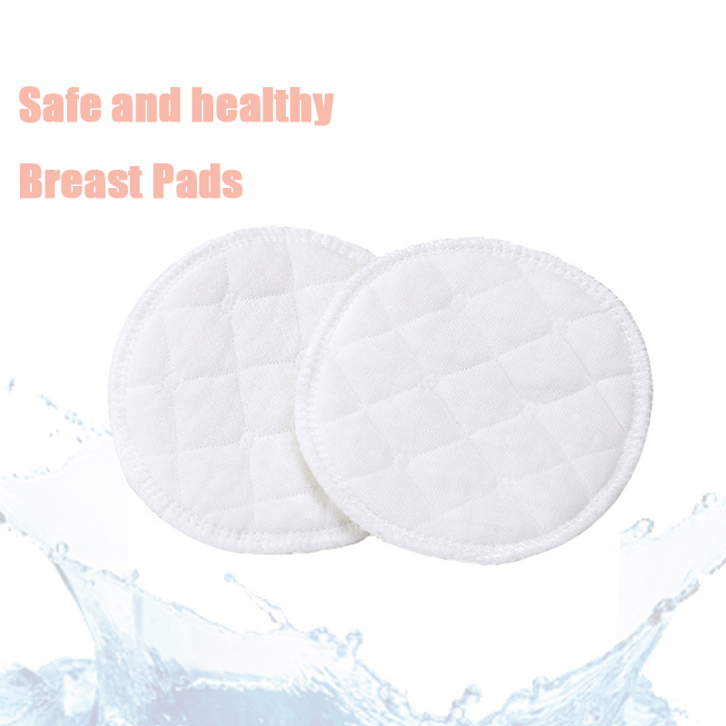 5Paris 10Pairs Breast Pads Multilayer Gauze Reusable Nursing Pads Light Soft Washable Pad Baby Breastfeeding Accessories