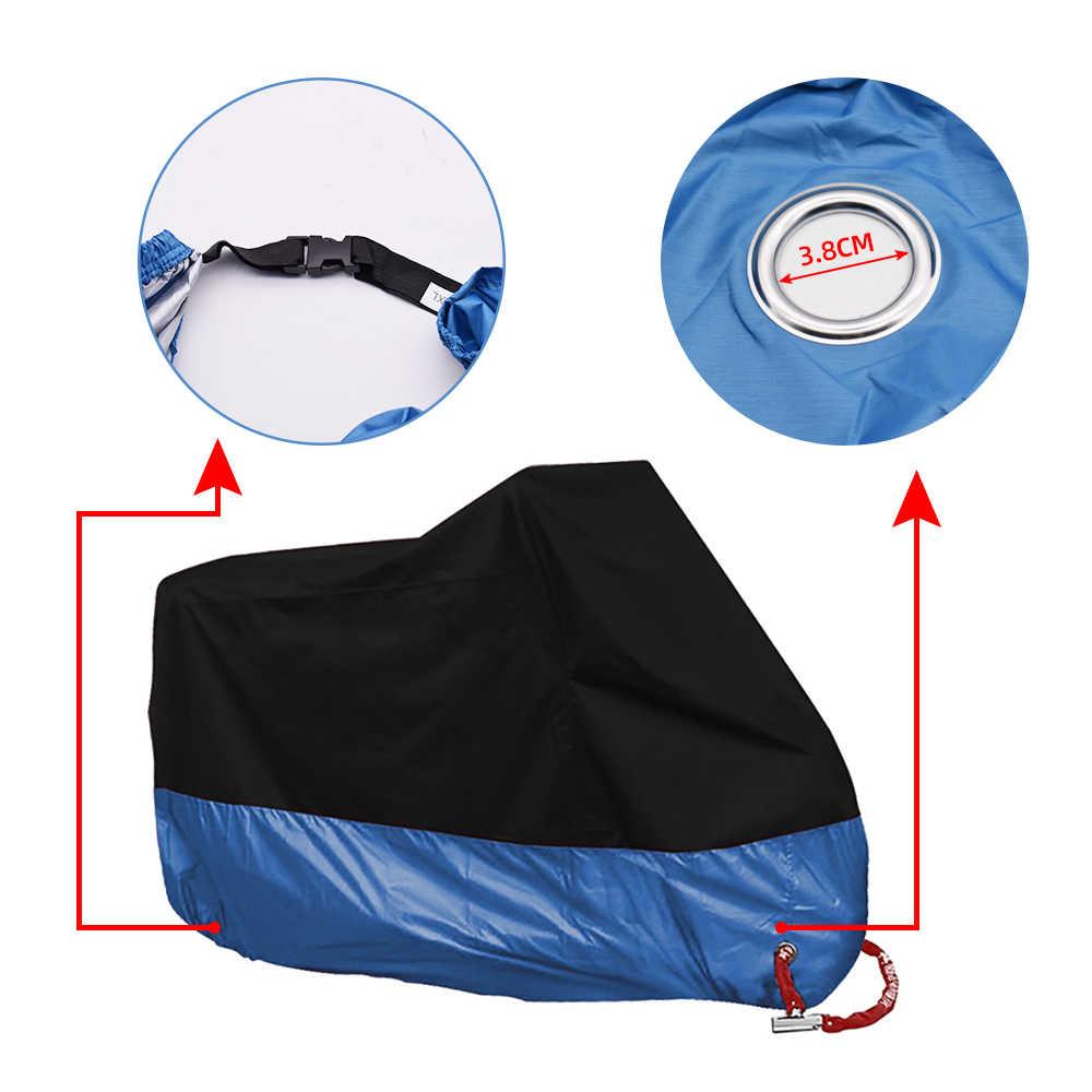 Универсальный чехол для мотоцикла, защита от дождя и пыли, защита от УФ-лучей, для Yamaha MT 09 10 FZ 07 09 6 FAZER 6R XSR 700
