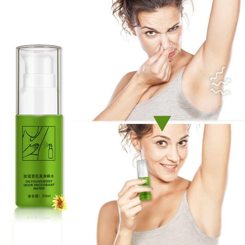 Natural Remove Armpit Foot Bad Body Odor Water Deodorizer Eliminate Antiperspirants Bodys Spray