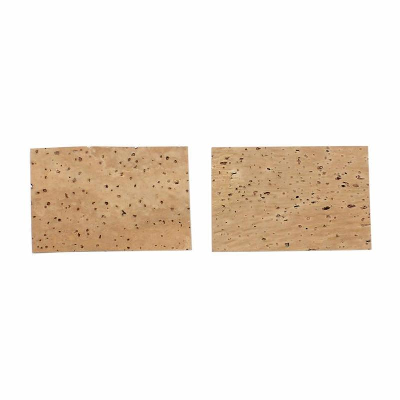 2pcs Waterproof Alto Sax Tenor Soprano Saxophone Clarinet Natural Neck Cork Sheet Musical Instruments Accessories