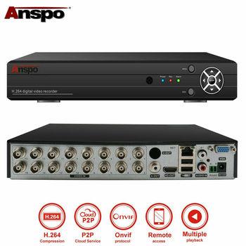 16 Channel AHD 1080P Video Recorder CCTV Smart Security DVR HD VGA HDMI BNC 2