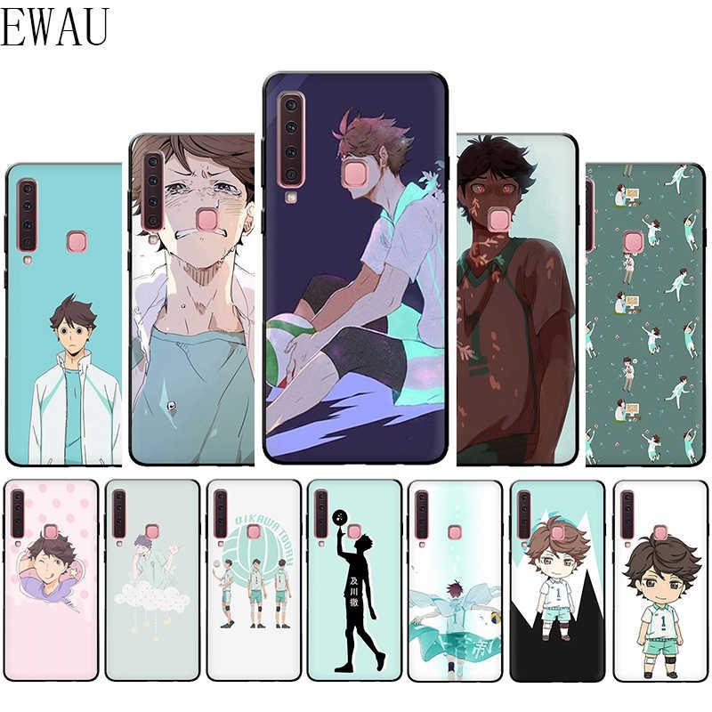 EWAU Oikawa Tooru Haikyuu!! Caso Della Copertura Del Telefono del Silicone per Samsung A3 A5 A6 più A7 A8 A9 A10s 20s 30s 40s 50s 60 70 J6