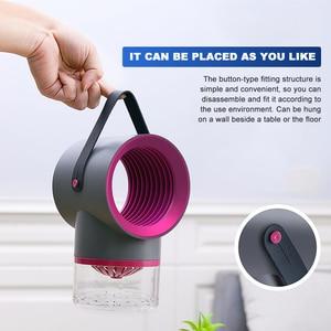 Image 5 - Светодиодная лампа для уничтожения комаров, УФ ночник, без шума, без излучения, USB, электрическая, для кухни, спальни, насекомых, мухи, ловушка