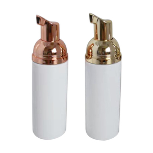 Image 5 - 10ps 30 60ml פלסטיק Foamer משאבת בקבוק Refillable ריק קוסמטי בקבוק נוזל סבון Dispenser קצף בקבוק עם זהב foamer