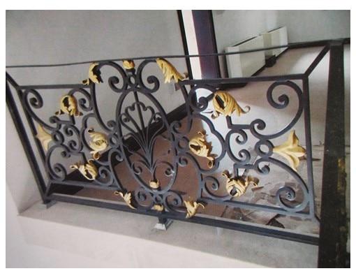 China Iron Company Fancy Steel Metal Aluminium Wrought Iron Balcony,iron Railing,iron Balustrades Design Hc-5
