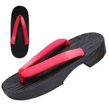 Японская традиционная обувь; женские деревянные гэта-сабо; аниме-Костюмы для костюмированной вечеринки; Сауна; спа; домашняя пляжная одежда; тапочки; сандалии