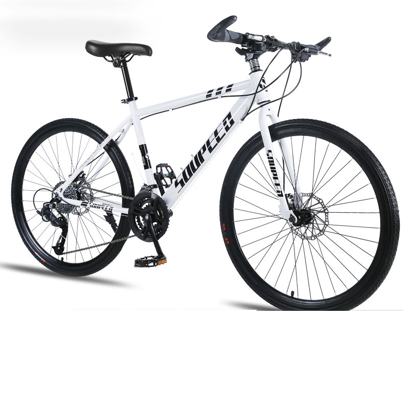 Mountain Bike Bicycle Adult Men And Women Speed Double Disc Brakes Shock Ultra Light Student Off Road