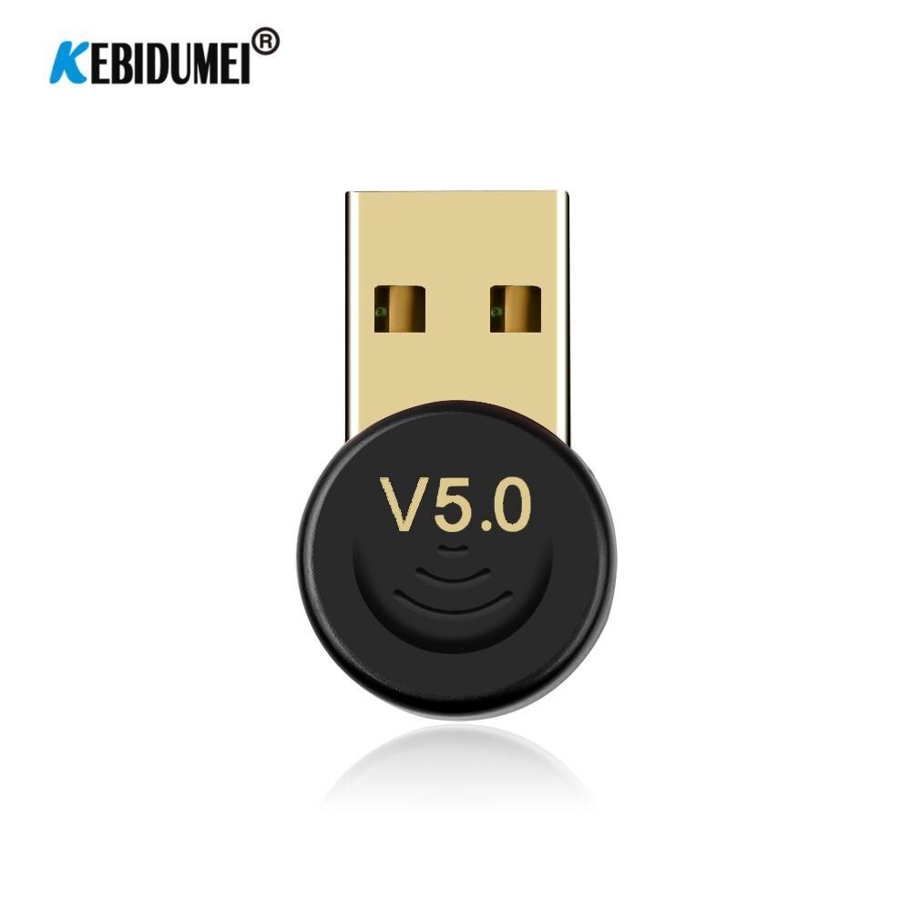 Mini Bluetooth 5.0 kablosuz AV alıcısı-vericisi USB Dongle Bluetooth hoparlör kulaklık klavye yazıcı kablosuz Dater müzik alıcısı