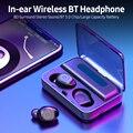 Wireless BT Kopfhörer 8D Surround Stereo Sound In-ohr Sport Ohrhörer mit Intelligente Steuerung Taste Power Bank Funktion kopfhörer