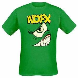 Мужская и женская футболка NOFX Mons-Tour, зеленая футболка, Размеры M, Xl, 2xl, 3xl