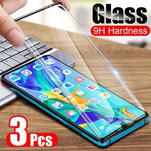 Image 5 - 3Pcs 9 שעתי מזג זכוכית עבור Huawei P20 פרו P30 P10 לייט P חכם 2019 מלא מסך מגן עבור כבוד 9 10 20 לייט 8X זכוכית סרט