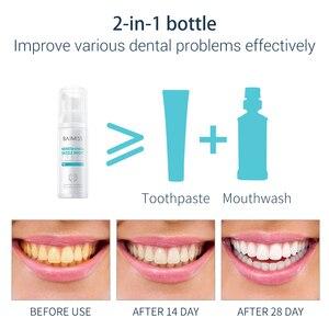 Image 4 - BAIMISS − dentifrice en Mousse, blanchiment des dents, nettoyant, fraîcheur et brillance, hygiène buccale, élimine les taches de plaques, élimine la mauvaise haleine