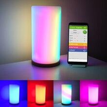 Lampe gyrophare numérique, pliable, Flexible et adressable, wi fi, matrice 16x16 bricolage même, bande lumineuse WS2812B, RGB, tableau daffichage, dc 5v, LED