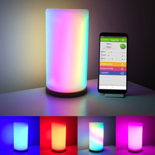 Led matrix 16x16, lâmpada giratória, wi fi, flexível, digital, endereçável, ws2812b, rgb dc5v display placa de placa