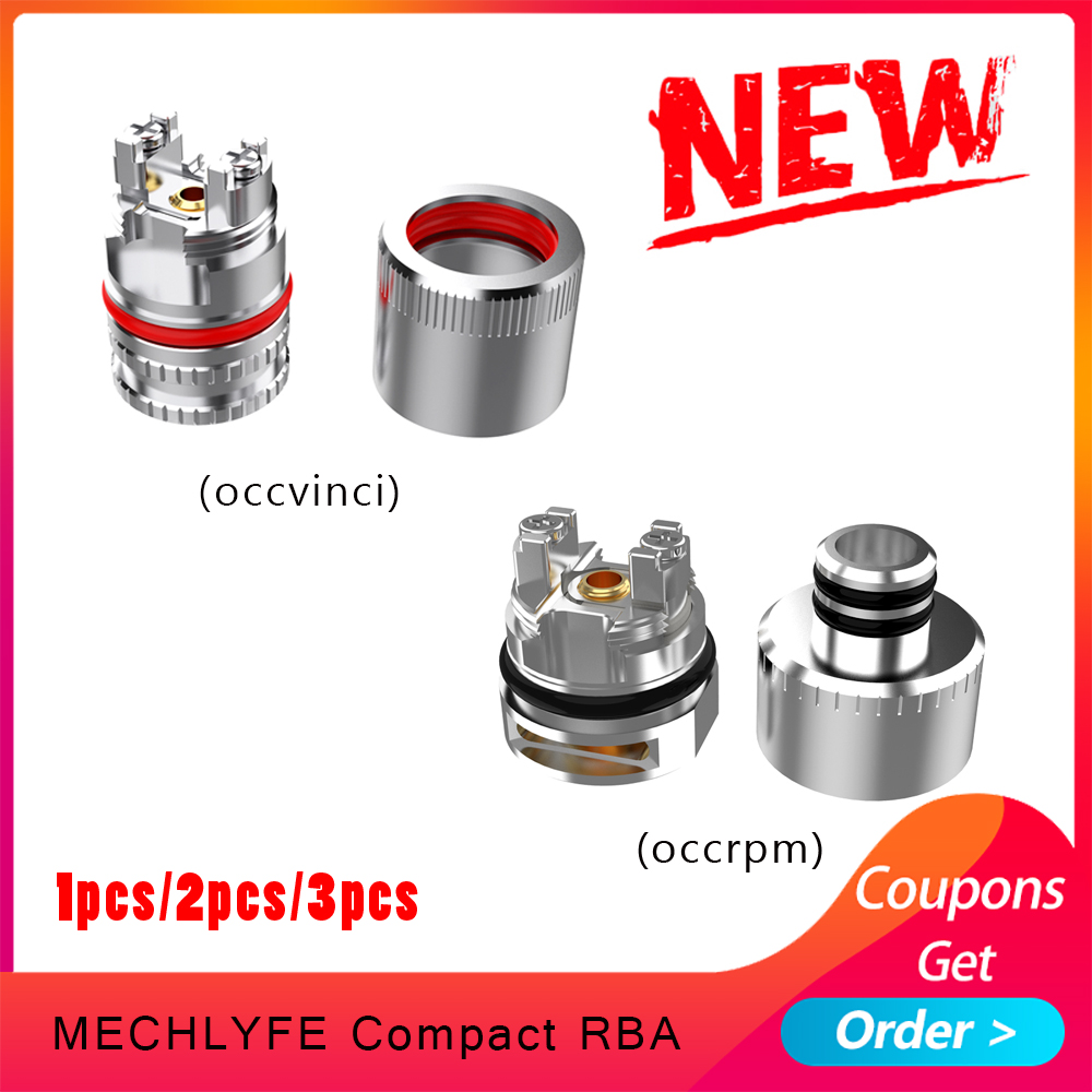 1pcs/2pcs/3pcs Electronic Cigarette COMPACT RBA  Atomizer Cores 510 Thread Design Coil Head For Rpm Pod/vinci Pod
