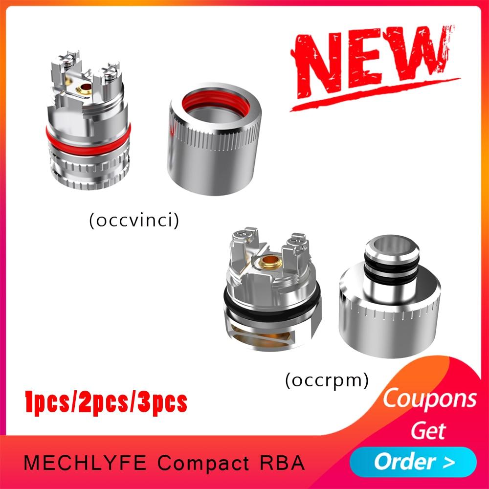 1pcs/2pcs/3pcs Electronic Cigarette COMPACT RBA  Atomizer Cores 510 Thread Design Coil Head For Rpm Pod/vinci Pod