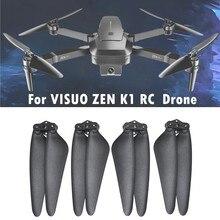 4 шт. Дрон Propelle складные пропеллеры часть для визуализации Zen-k1 Квадрокоптер с дистанционным управлением Drone R БПЛА дистанционного управлени...