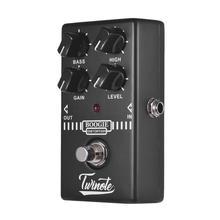 Elektro gitar efektleri pedalı Mini etkisi Overdrive/bozulma/klasik/Fuzz/AMP güçlendirici/Boogie Dist/BBD gecikme gitar aksesuarları