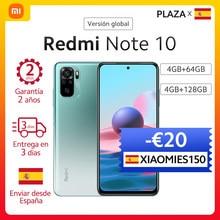 Xiaomi-Smartphone Redmi Note 10, versión Global, Pantalla AMOLED de 6,43 pulgadas, cámara cuádruple de 48MP, carga rápida de 33W, Snapdragon 678