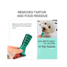 Dog Toy Chew Toys Toothbrush Pet Molar Tooth Cleaning Brushing Stick Doggy Puppy Dental Care Small Supplies