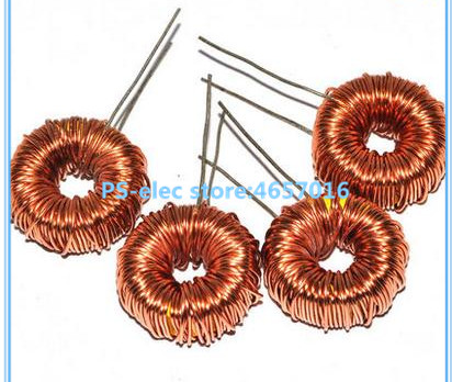5pcs Toroid Inductor 3A Winding Magnetic Inductance 22uH 33uH 47uH 100uH 220uH 330uH 470uH Inductor image