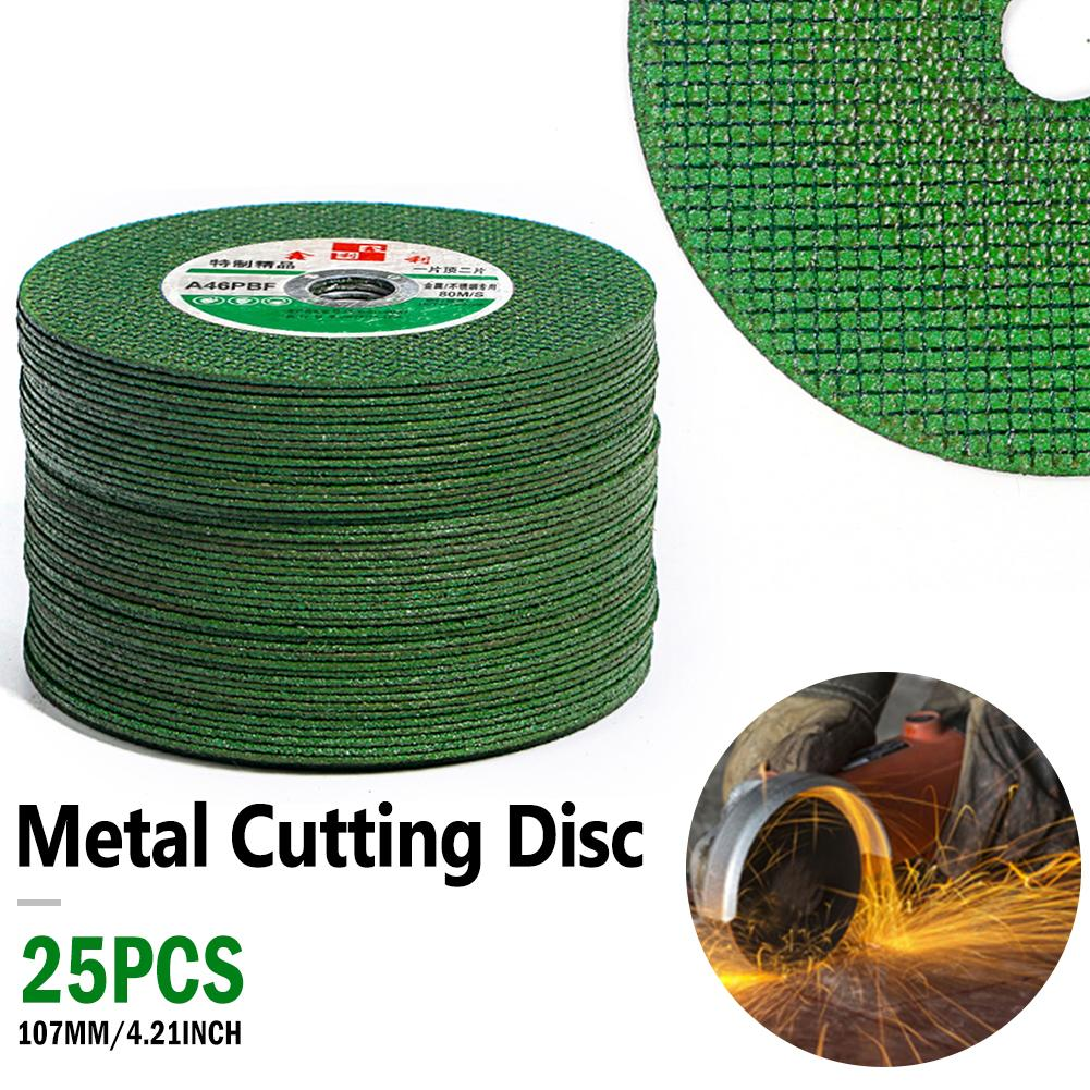 25PCS 100mm Cutting Discs Professional Grinding Wheel Disc Piece Angle Grinder For Metal Cutting Abrasive Tools