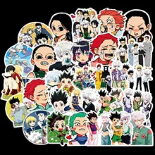 10/30/50/Pack Anime Hunter X Hunter Stickers Waterproof PVC Graffiti Guitar Skateboard Laptop Luggage Vsco Girl Sticker Kids Toy