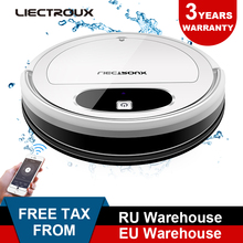 Liectroux 11S Robot Vacuum Cleaner,WiFi App,Gyroscope & 2D Map Navigation,Electric Control Air Pump Water Tank,Wet Dry Cleaning
