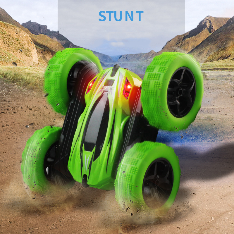 RC Car Remote Control Toy Car With 2.4G 4CH Stunt Drift Deformation Buggy Rock Crawler Roll Car Flip Kids Robot Toys for Gifts(China)